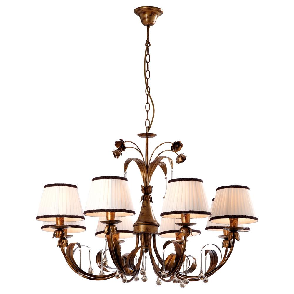 Светильник подвесной Arte Lamp Borgia A8100LM-8GA