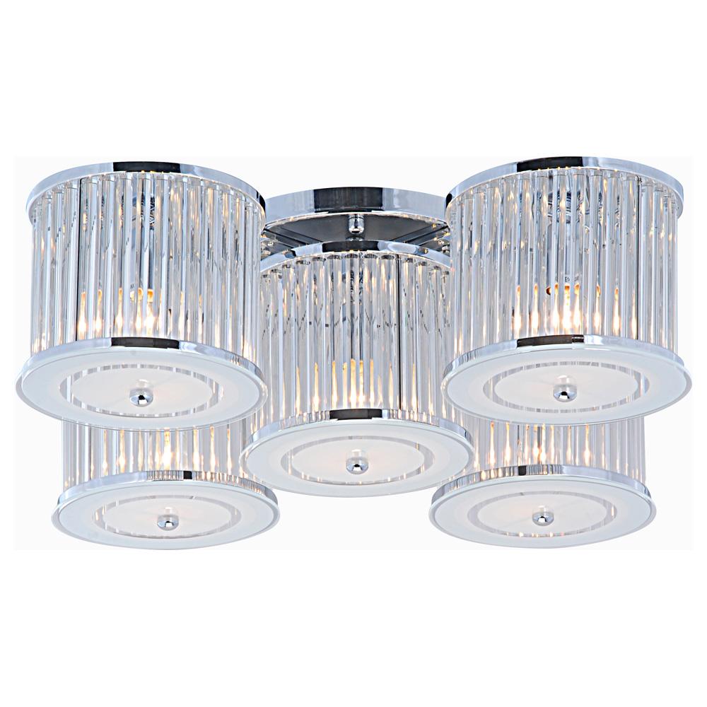 Светильник потолочный Arte Lamp GLASSY A8240PL-5CCA8240PL-5CC