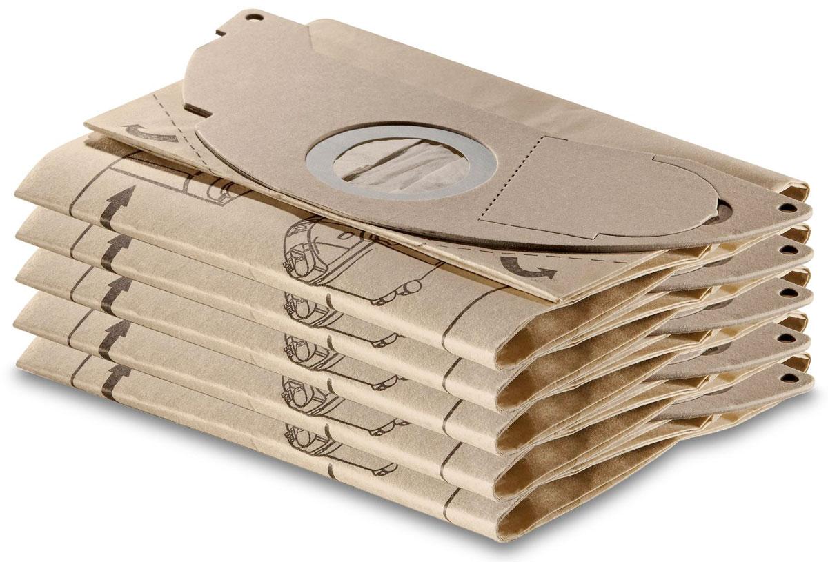 Karcher 69041430 комплект фильтров, 5 шт + 1 микро-фильтр karcher в москве дешево