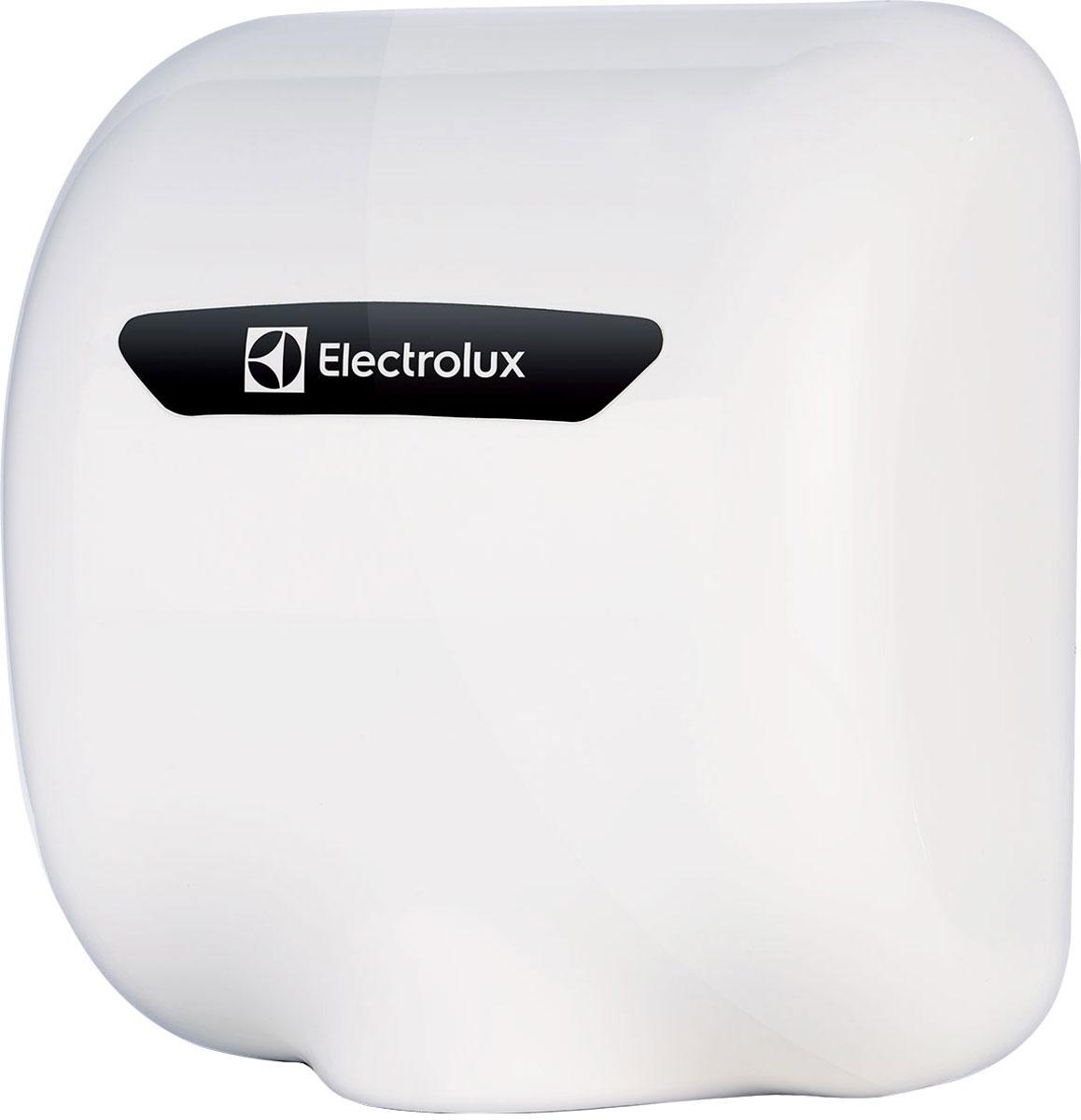 Electrolux EHDA/HPW-1800W сушилка для рукEHDA/HPW-1800WСушилка для рук Electrolux EHDA/HPW-1800W незаменима для мест, с большой проходимостью людей, таких как больницы, кинотеатры, кафе и рестораны. Устройство снабжено инфракрасным датчиком, автоматически включающим прибор когда пользователь подносит руки к рабочей зоне. Автоматическое выключение происходит через 10 секунд - за это время руки можно полностью высушить. Выход воздуха снизу Нагревательный элемент Скорость воздушного потока до 220 км/ч Съемный воздушный фильтр