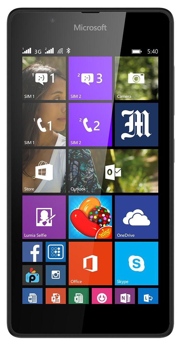 Microsoft Lumia 540 Dual Sim, Black