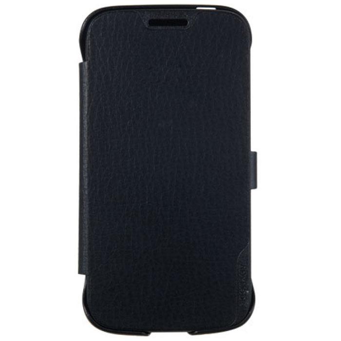 Anymode Flip Case чехол для Samsung Galaxy J1, BlackFA00042KBKЧехол Anymode Flip Case для Samsung Galaxy J1 mini обеспечивает надежную защиту корпуса и экрана смартфона и надолго сохраняет его привлекательный внешний вид. Чехол также обеспечивает свободный доступ ко всем разъемам и клавишам устройства.