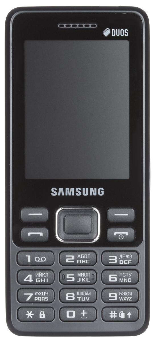 Samsung SM-B350E, Blue BlackSM-B350EBKASERSamsung SM-B350E - классический моноблок, который легко помещается кармане и удобно лежит в руке. Эргономичная модель комфортно ощущается в ладони, а стильные элементы дизайна привлекают внимание окружающих. Данная модель оснащена 2,4-дюймовым дисплеем, который делает комфортным просмотр фото, чтение сообщений и использование других функций устройства. В поездке всегда можно окунуться в мир музыки, включив встроенный плеер или FM-радио. К тому же стандартный аудиоразъем 3.5 мм подойдет практически для любых наушников. Samsung SM-B350E поддерживает работу с двумя SIM-картами в режиме ожидания, за счет чего он может использоваться в качестве личного и рабочего одновременно. Кроме того, наличие двух карт позволяет эффективно управлять тарифами различных мобильных операторов, уменьшая уровень расходов. Телефон сертифицирован Ростест и имеет русифицированную клавиатуру, меню и Руководство пользователя.