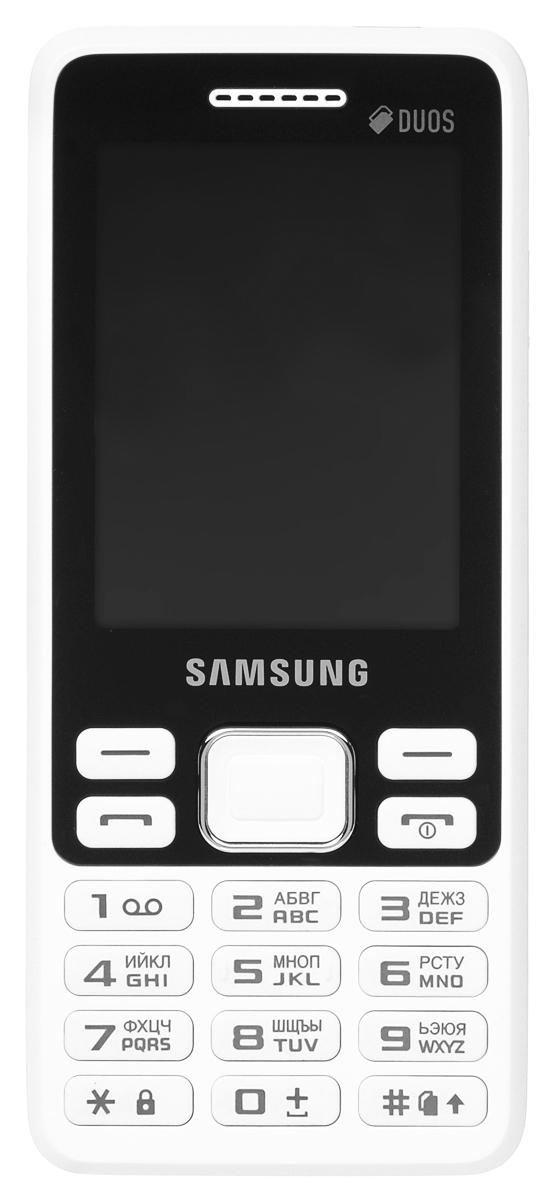 Samsung SM-B350E, WhiteSM-B350EZWASERSamsung SM-B350E - классический моноблок, который легко помещается кармане и удобно лежит в руке. Эргономичная модель комфортно ощущается в ладони, а стильные элементы дизайна привлекают внимание окружающих. Данная модель оснащена 2,4-дюймовым дисплеем, который делает комфортным просмотр фото, чтение сообщений и использование других функций устройства. В поездке всегда можно окунуться в мир музыки, включив встроенный плеер или FM-радио. К тому же стандартный аудиоразъем 3.5 мм подойдет практически для любых наушников. Samsung SM-B350E поддерживает работу с двумя SIM-картами в режиме ожидания, за счет чего он может использоваться в качестве личного и рабочего одновременно. Кроме того, наличие двух карт позволяет эффективно управлять тарифами различных мобильных операторов, уменьшая уровень расходов. Телефон сертифицирован Ростест и имеет русифицированную клавиатуру, меню и Руководство пользователя.