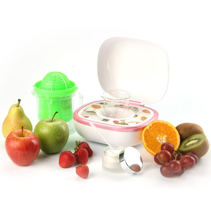 Welss Косметическая система HomeMask WS 5050WS 5050Специалисты WELSS разработали уникальную, не имеющую аналогов на российском рынке - косметическую систему HomeMask WELSS WS 5050 для изготовления коллагеновых фруктовых масок в домашних условиях, которые: Улучшают микроциркуляцию крови в верхних слоях кожи Выводят токсины Прекрасно отбеливают, увлажняют и питают кожу Разглаживают мимические морщины и предупреждают появление новых Восстанавливают и подтягивают кожу Процесс изготовления маски занимает всего 20 минут. В качестве основных компонентов используются только свежие фрукты, овощи, молоко, сливки, мед и многое другое!