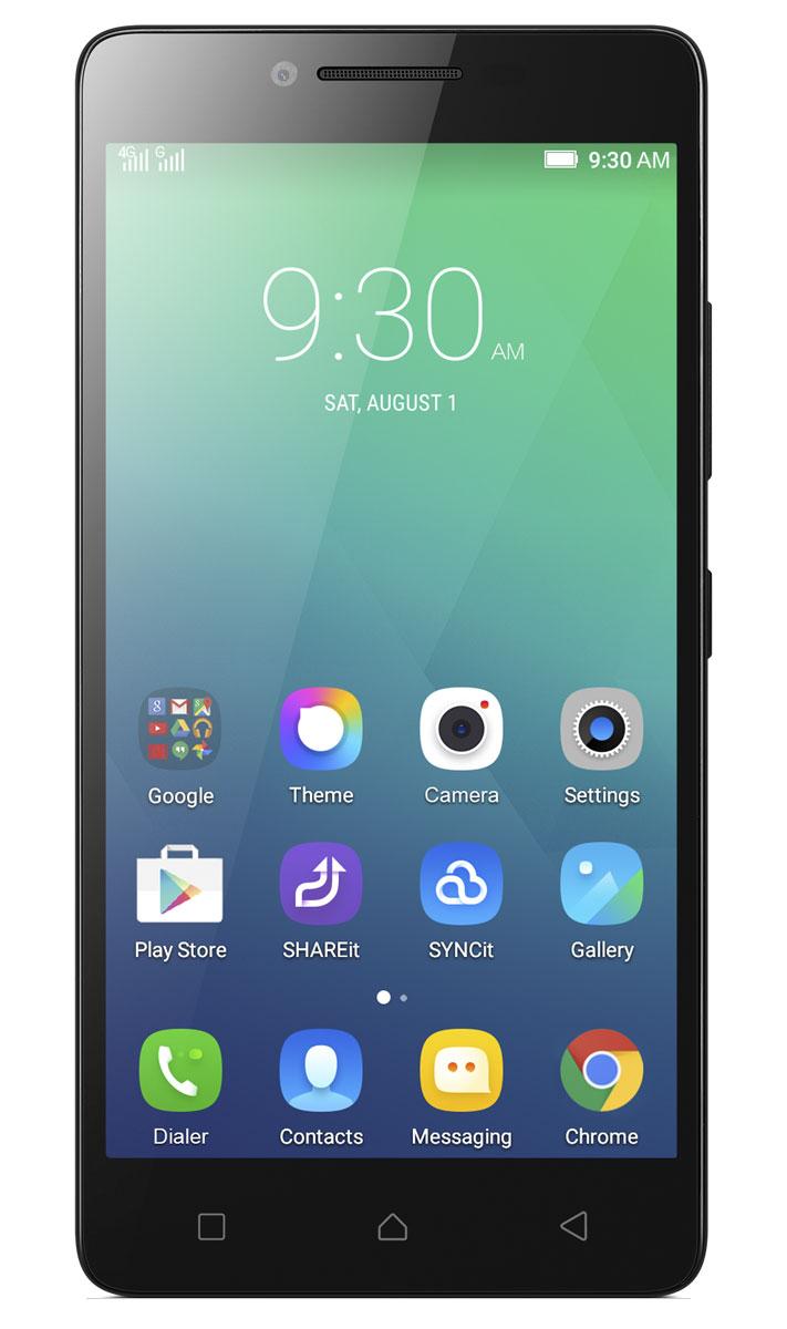 Lenovo A6010 8GB, BlackPA220036RULenovo A6010 - стильный смартфон с множеством мультимедийных возможностей. 5-дюймовый HD-дисплей с яркими цветами и отличным разрешением создан для мультимедийных развлечений. На нем все ваши видео, игры и изображения будут невероятно четкими и яркими. Благодаря матрице IPS достигаются широчайшие углы обзора - практически 180°. Поэтому большой и яркий дисплей A6010 отлично подойдет для развлечений в кругу семьи или в компании друзей. Данная модель оборудована скоростным четырехъядерным 64-битным процессором Qualcomm Snapdragon с частотой 1,2 ГГц и 1 ГБ оперативной памяти. Смартфон поддерживает высокоскоростные сети передачи данных LTE (4G). Вы сможете в полной мере насладиться просмотром веб-страниц, фильмами, книгами, играми и онлайн- чатами. Lenovo A6010 оборудован передовой аудиосистемой Dolby Atmos с богатым и четким звуком. Благодаря объемному звуку вы сможете открыть новые грани музыки, видео, игр и даже видеочатов. ...