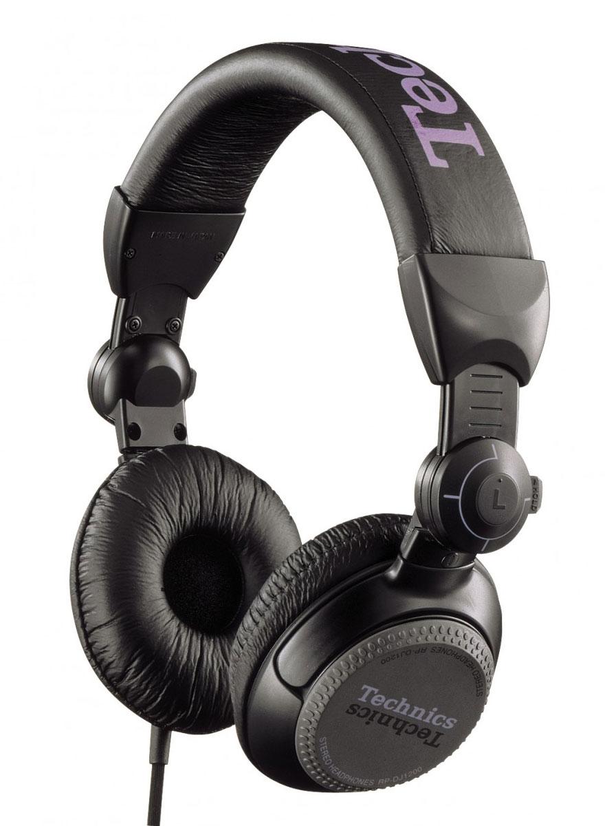 Technics RP-DJ1200E-K, Black наушникиRP-DJ1200E-KTechnics RP-DJ1200E-K - это мониторные наушники закрытого типа для профессиональных диджеев и любителей качественного студийного звучания. Данная модель представляет собой удобную складную конструкцию с регулируемым оголовьем. Оголовье имеет стальной каркас. Чашки наушников крепятся к оголовью с помощью регулируемых по жесткости шарниров. Пользователь может по собственному усмотрению настроить шарнир или полностью его заблокировать с помощью сдвижного фиксатора. Наушники способны предложить своему владельцу высококачественный сбалансированный звук с идеальной передачей всех нюансов музыки, независимо от предпочитаемых жанров. Закрытые чашки и качественные амбушюры обеспечивают эффективную звукоизоляцию, что делает Technics RP-DJ1200 идеальным инструментом для диджея. Оценят данное качество и любители послушать музыку в транспорте или в условиях шумной городской улицы.