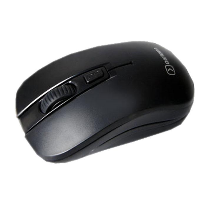 Oxion OMSW009, Black мышь беспроводнаяOMSW009BKБеспроводная компьютерная мышь Oxion OMSW009 с эргономичным дизайном создана для продолжительной работы без ощущения усталости. Для подключения устройства достаточно установить миниатюрный радиоприемник. Переключаемое разрешение оптического сенсора в диапазоне 1000/1600 dpi обеспечивает точное управление курсором. Мышь подходит для использования как в офисе, так и дома.
