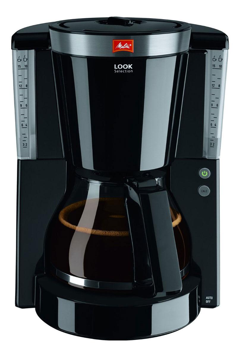 Melitta Look IV Selection, Black кофеварка20986Melitta Look IV Selection впечатляет не только превосходным вкусом, но также элегантными элементами из нержавеющей стали. Рассчитана на 10/15 чашек Размер кофейных фильтров Melitta 1x4 Запатентованный AromaSelector Программируемый уровень жесткости воды Индикатор образования накипи Программируемый подогрев Элементы из нержавеющей стали на крышке фильтра Противокапельная система Drip stop Прозрачная ёмкость для воды Переключатель on/off с подсветкой Протестировано на безопасность по правилам ОНЭ