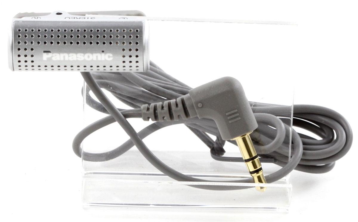 Panasonic RP-VC201E-S, Silver микрофон петличныйRP-VC201E-SМикрофон Panasonic RP-VC201E-S отлично подойдет для записи на диктофон и специально разработан для аппаратуры со съемным источником питания. Легкий и компактный, он оборудован зажимом для закрепления на одежде.