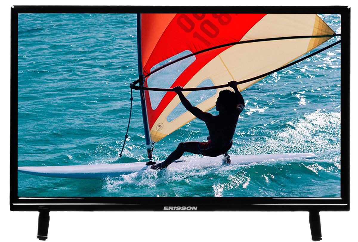 Erisson 24LES70T2 телевизор24LES70T2Телевизор Erisson 24LES70T2 с насыщенной цветопередачей изображения на экране с разрешением HD и широкими углами обзора. Источником сигнала для качественной реалистичной картинки служат не только цифровые эфирные и кабельные каналы, но и любые записи с внешних носителей, благодаря универсальному встроенному USB медиаплееру.