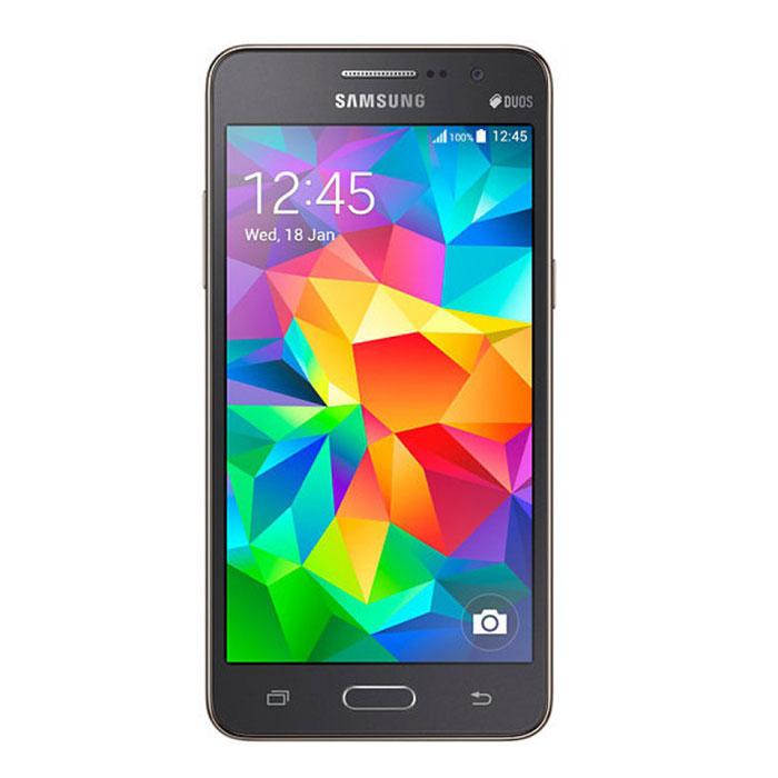 Samsung SM-G531H Galaxy Grand Prime VE Duos, GraySM-G531HZADSERПри толщине всего 8,6 мм смартфон Samsung SM-G531H Galaxy Grand Prime VE Duos отличается высокой функциональностью и оснащен всеми возможностями для общения на ходу. Компактный, но с большим экраном: 5- дюймовый qHD дисплей - это полный комфорт для глаз при просмотре веб-страниц, видео и чтения электронных книг. Смартфон оснащен четырехъядерным процессором 1,3 ГГц, 1 ГБ оперативной памяти для поддержки многозадачности - одновременной работы с несколькими приложениями. Селфи с друзьями - никогда не было так просто! Samsung SM-G531H Galaxy Grand Prime VE Duos оснащен 5- мегапиксельной фронтальной камерой с широкоугольным объективом с полем зрения 85 градусов. Чем шире поле зрения объектива, тем больше друзей и предметов второго плана можно разместить в одном кадре. Высокое разрешение снимка обеспечит получение отличного изображения, которое вы тотчас захотите выложить в сеть Теперь вы можете не беспокоиться о том, что аккумулятор разряжен...