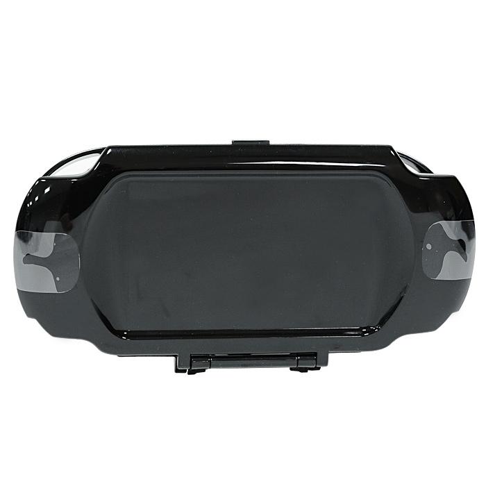 Пластиковый чехол Hori для PS Vita (черный)