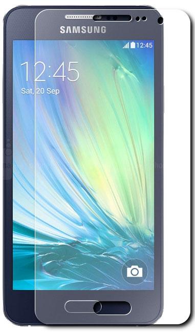 Skinbox защитное стекло для Samsung Galaxy A5, глянцевоеSP-084Защитное стекло Skinbox для Samsung Galaxy A5 предназначено для защиты поверхности экрана от царапин, потертостей, отпечатков пальцев и прочих следов механического воздействия. Оно имеет окаймляющую загнутую мембрану последнего поколения, а также олеофобное покрытие. Изделие изготовлено из закаленного стекла высшей категории, с высокой чувствительностью и сцеплением с экраном.