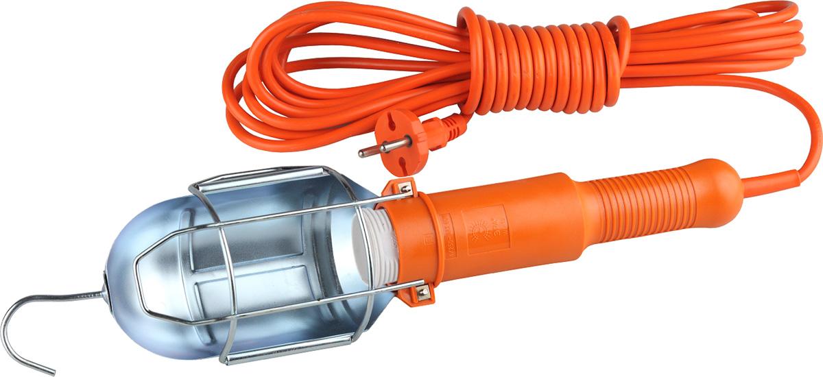 Светильник переносной ЭРА WL-1s-7m, со встроенной розеткой и выключателем, 7 м
