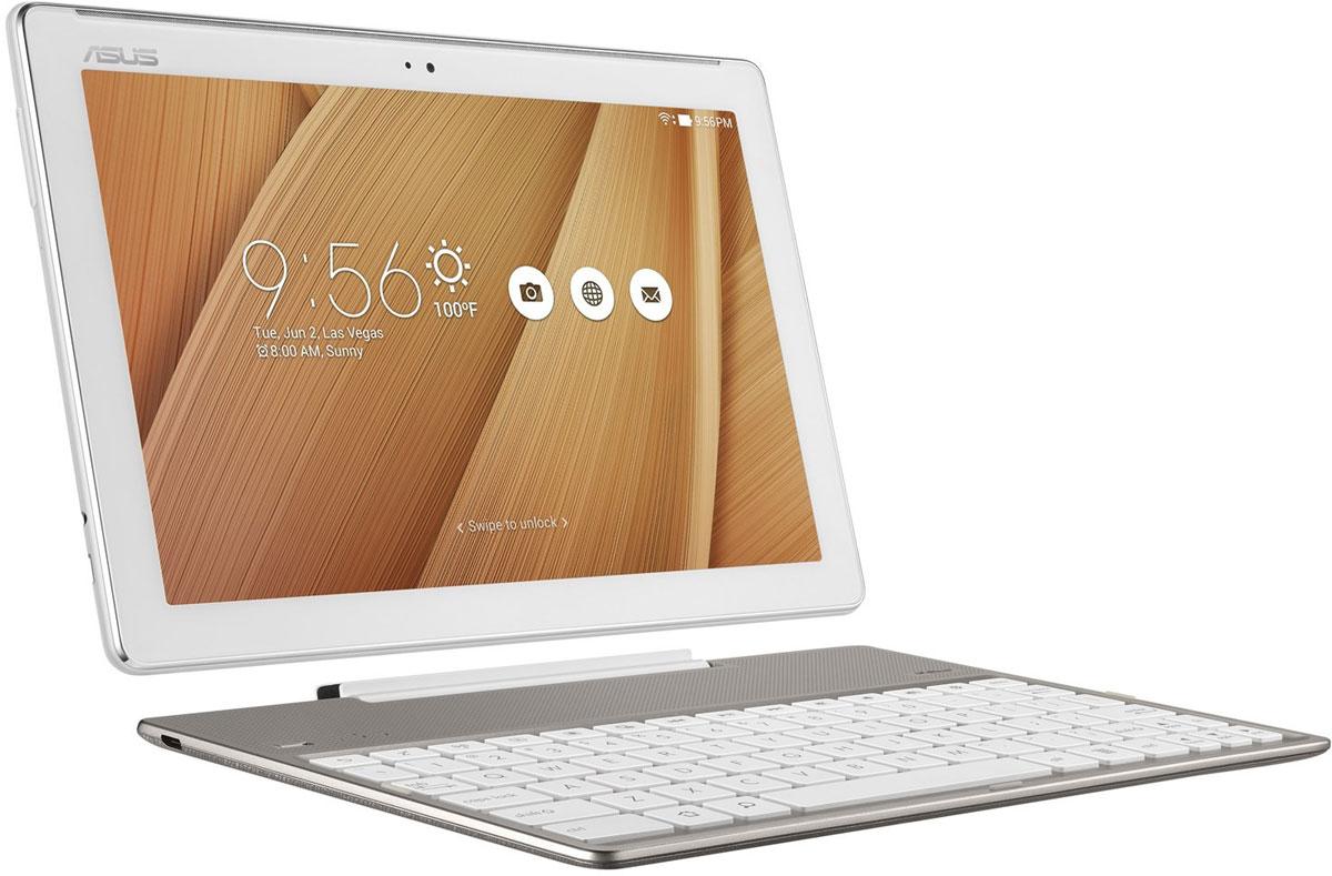 Asus ZenPad 10 ZD300CL, Metallic (90NP01T2-M01100)ZD300CL-1L012AПланшетный компьютер с клавиатурой Asus ZenPad 10 ZD300CL способен заменить сразу несколько устройств: персональный компьютер, ноутбук, а также аудио- и видеоплеер. Все модели серии ZenPad объединены общей дизайн-философией Zen, которая направлена на разработку красивых и высокотехнологичных устройств - роскоши, доступной для каждого. Внешний вид этого планшета - яркий, стильный, современный - не оставит равнодушным ни одного пользователя. Asus VisualMaster - это общее название комплекса аппаратных и программных средств улучшения изображения за счет оптимизации множества параметров, включая контрастность, резкость, цветопередачу, яркость. Asus VisualMaster - залог красочной и реалистичной картинки на экране планшета. Две камеры планшета, с 5- и 2-мегапиксельными матрицами, дают возможность снимать достойные фотографии и видеоролики, с комфортом общаться в видеочатах. Благодаря технологии PixelMaster владелец может снимать панорамные...