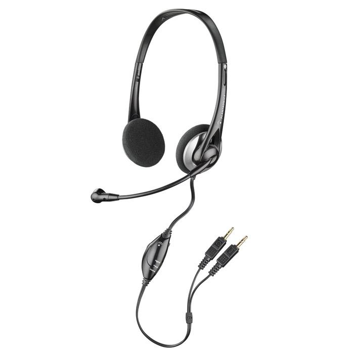 Plantronics 326 гарнитураSV-041080BKСтерео-гарнитура Plantronics 326 сможет удовлетворить требования даже самых взыскательных пользователей. Микрофон с системой шумоподавления передает кристально чистый голос и располагается на длинном гибком держателе, при необходимости его можно сложить к оголовью. На шнуре расположен компактный блок регулировки громкости и кнопка отключения микрофона, что обеспечивает дополнительное удобство и контроль во время использования гарнитуры. Гарнитура подключается к звуковой карте компьютера с помощью двух стандартных разъемов 3,5 мм. Мультимедийная аналоговая компьютерная гарнитура Микрофон с системой шумоподавления Высокое качество передачи речи Кнопка отключения микрофона Регулировка громкости в динамиках