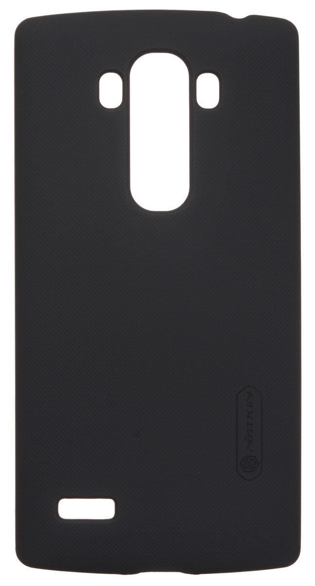 Nillkin Super Frosted Shield чехол для LG G4S, BlackT-N-LG4S-002Чехол Nillkin Super Frosted Shield для LG G4S изготовлен из экологически чистого поликарбоната путем высокотемпературной высокоточной формовки. Обе стороны чехла выполнены в соответствии с самой современной технологией изготовления матовых материалов, устойчивых к оседанию пыли, и покрыты краской, светящейся под воздействием ультрафиолета. Элегантный дизайн, чехол приятен на ощупь. Жесткость чехла предотвращает телефон от повреждений во время транспортировки. Размер чехла точно соответствует размеру телефона с четким соответствием всех функциональных отверстий. Вы можете использовать чехол, как вам будет удобно. Он изготовлен из цельной пластины методом загиба, износостойкий, устойчив к оседанию пыли, не скользит, устойчив к образованию отпечатков, легко чистится. Супертонкий Не скользит в руках