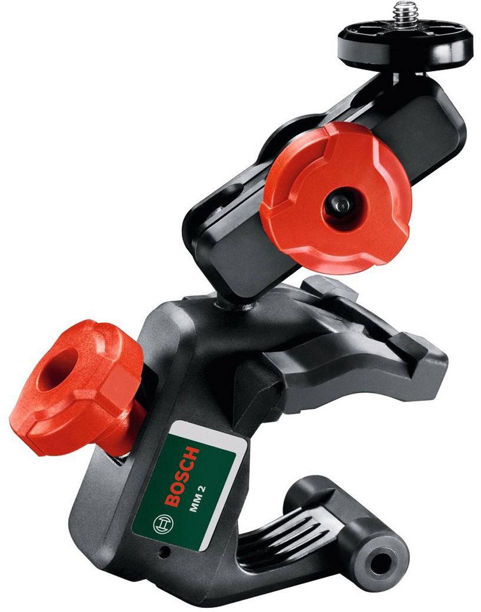 Крепление для лазерного нивелира Quigo II Bosch MM2 (0603692200)0603692200Компактное крепление Bosch MM2 для лазерного нивелира Quigo II поможет спроецировать лазерный луч на требуемой высоте.