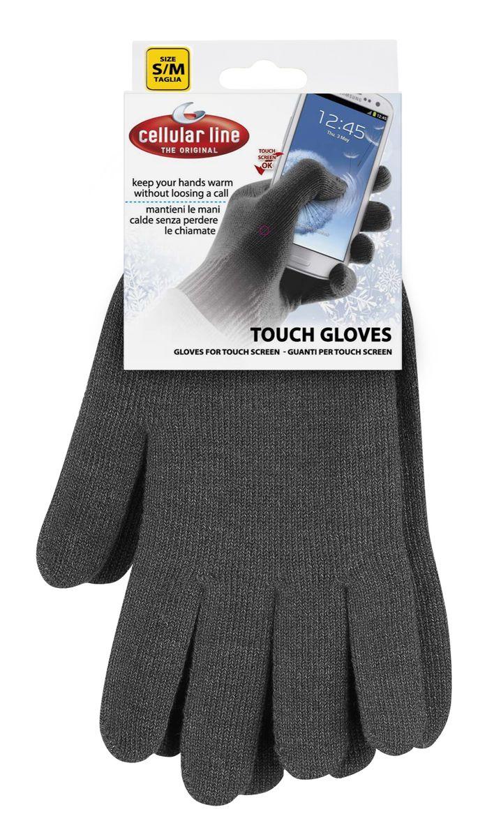 Cellular Line TouchGloves размер S/M, Black сенсорные перчаткиTOUCHGLOVESSMBK. (17191)Cellular Line Touchgloves - с виду вполне обычные перчатки, которые на самом деле обладают полезными свойствами. Ведь они разработаны для того, чтобы раз и навсегда решить проблему, возникающую перед обладателями устройств с сенсорным дисплеем в холодное время года. Теперь вы сможете управлять девайсом, не подвергая свои руки воздействию мороза, ведь работать с любым сенсорным экраном можно прямо в них. Самое замечательное, что гаджет будет отзываться на прикосновения так же чутко, как будто вы дотрагиваетесь до него пальцем. Состав: 55,5% акрил 31,4% проводящая пряжа 8,2% спандекс 4,9% эластан