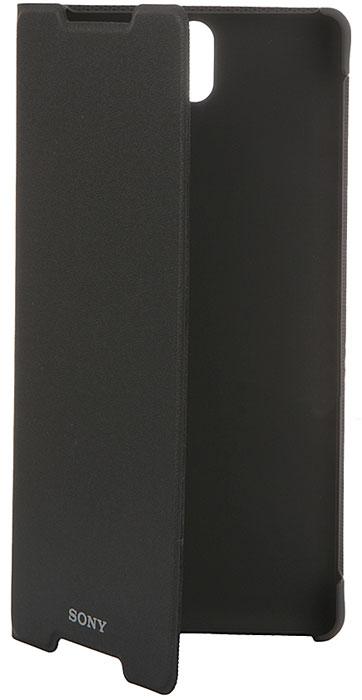 Sony SCR40 чехол для Xperia C5 Ultra Dual, Black1295-1028Не расстаетесь со своим Xperia C5 Ultra даже в дороге? Чехол Sony SCR40 надежно защитит его от неприятных неожиданностей. Если откинуть крышку этого умного аксессуара, планшет перейдет в активный режим, а если закрыть - вернется в режим сна. Чехол-подставка SCR40 позволяет удобно разместить планшет на столе, чтобы вы могли с комфортом общаться, работать в Интернете и развлекаться на своем Xperia C5 Ultra. Он создан специально для Xperia C5 Ultra. В этом чехле предусмотрены разъемы для камеры, зарядного устройства и аудиоустройств. SCR40 - превосходное сочетание современных материалов и престижного и элегантного дизайна.