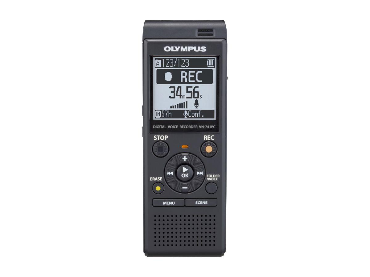 Olympus VN-741PC, Black цифровой диктофон