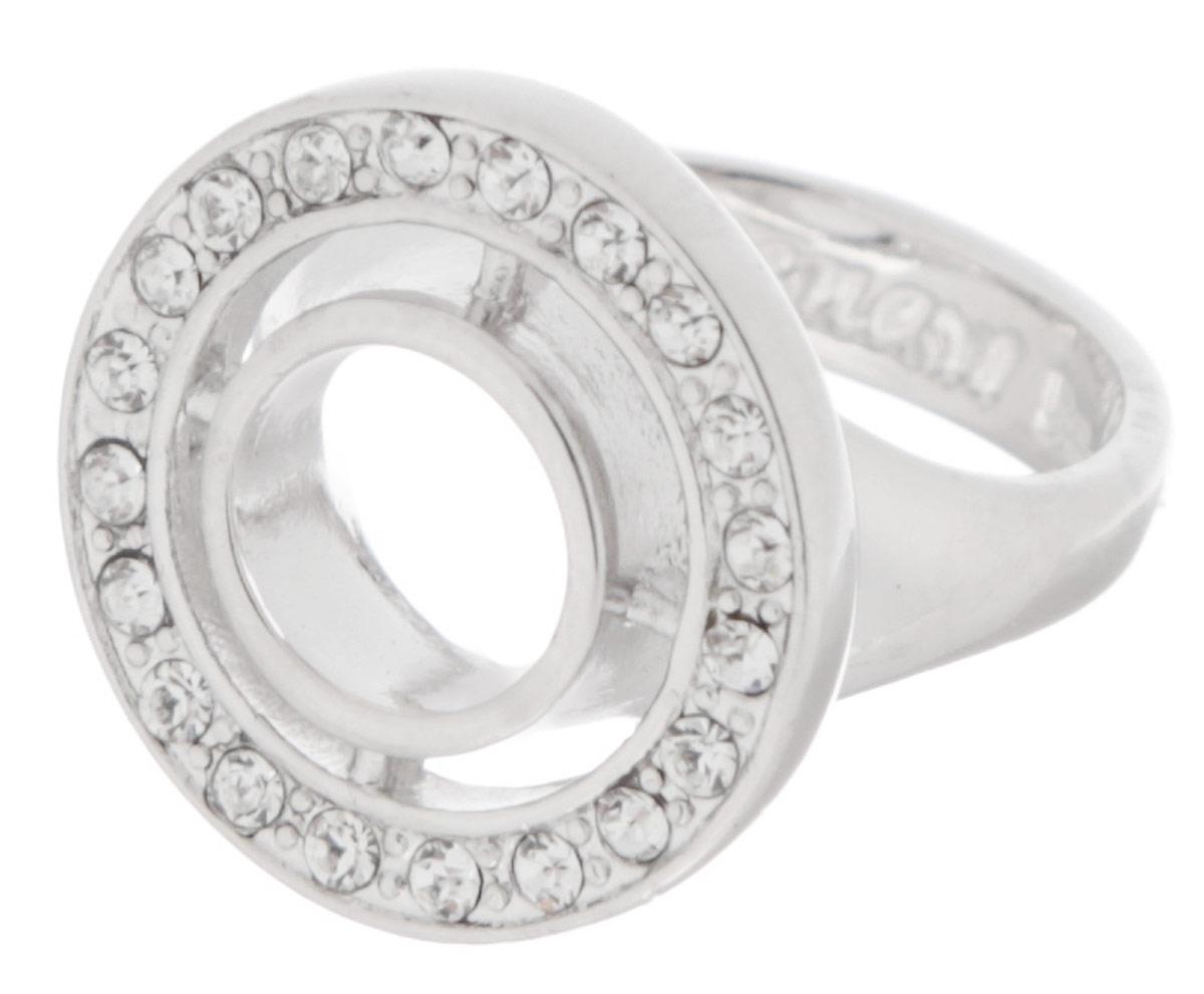 "Кольцо Jenavi ""Барута"", цвет: серебристый. Размер 19"