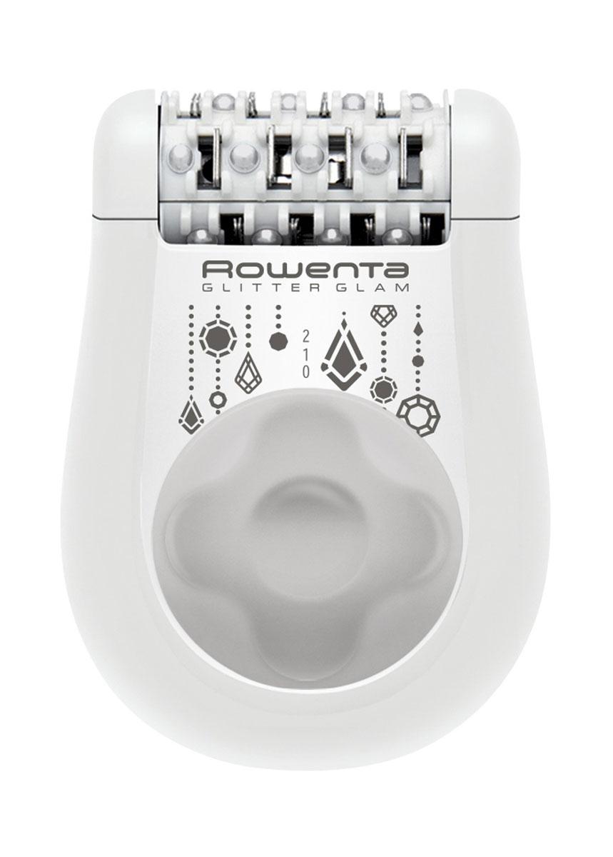 Rowenta EP1045F0, White эпиляторEP1045Эпилятор Rowenta EP1045F0 - позволит просто и эффективно избавиться от нежелательных волосков на теле и подарит вам идеально гладкую кожу. Модель имеет 24 пинцета, 2 режима скорости и одну насадку. Специальные массажные шарики обеспечивают систему обезболивания. Удобная и компактная модель работает от сети 220В.