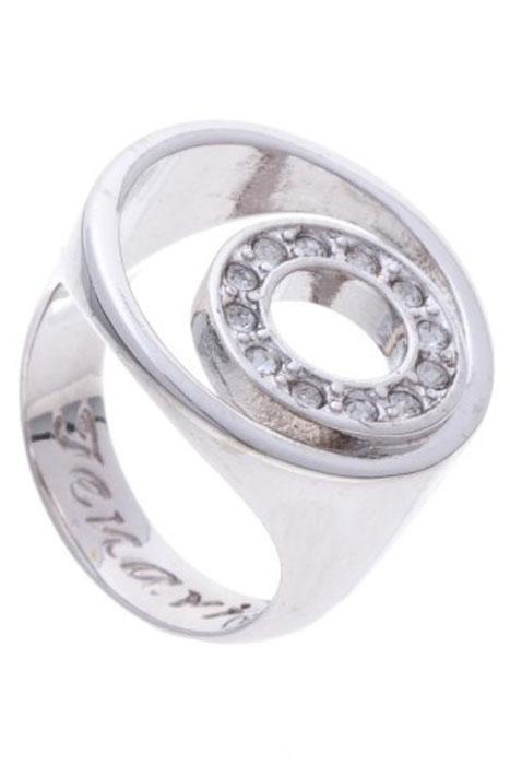"Кольцо Jenavi ""Ниацианта"", цвет: серебристый. Размер 20"