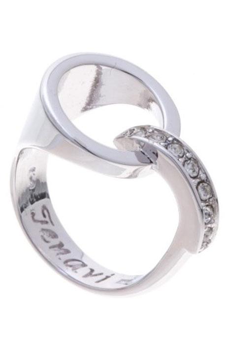"""Кольцо Jenavi """"Вентерна"""", цвет: серебристый. Размер 20"""