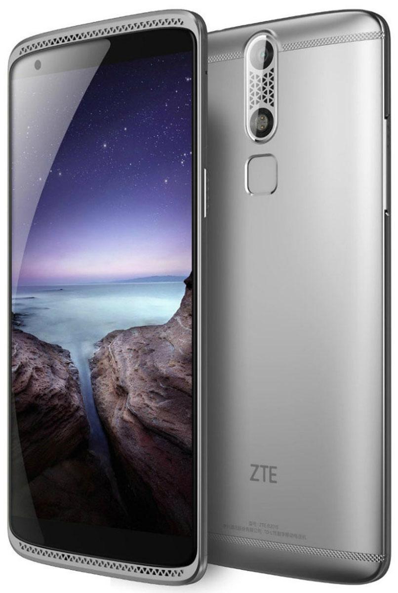 ZTE Axon Mini, SilverZTE AXON MINI (4G) SILVERЗащитить свой смартфон от несанкционированного доступа еще никогда не было так просто и надежно! ZTE Axon Mini обладает тремя способами биометрической идентификации – датчик отпечатка пальца, датчик распознавания голоса и датчик распознавания сетчатки глаза. Корпус смартфона выполнен из авиационного алюминия в обтекаемом форм-факторе, что обеспечивает сочетание высокой эргономики, механической прочности устройства и низкого веса - всего 132 грамма. Любители цифрового звука будут приятно удивлены наличием в смартфоне Axon Mini независимого аудио- чипсета и кодека премиального уровня AKM4961 от японской корпорации Asahi Kasei Microdevices, который обеспечит высочайшее качество воспроизведения любимых треков. Кроме того, благодаря передовым функциям шумоподавления, уровень записываемого звука при видеосъемке будет сравним со студийным. Данная модель имеет в арсенале Full HD-дисплей, что обеспечивает высочайшую четкость и качество картинки.Его...