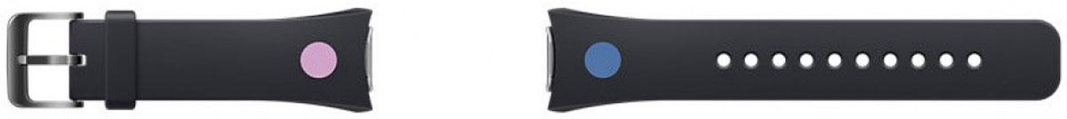 Samsung Gear S2 Mendini collection, Black ремешок для смарт-часов