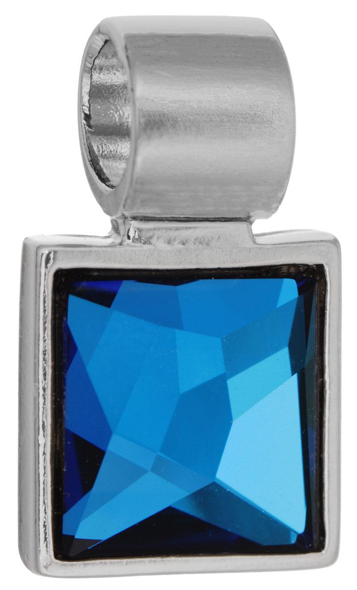Подвеска Jenavi Милоя, цвет: серебряный, синий. k294f344k294f344Подвеска Jenavi Милоя выполнена из гипоаллергенного ювелирного сплава, оформлена покрытием из серебра и родия. Подвеска квадратной формы дополнена граненым кристаллом Swarovski. Изделие имеет отверстие, которое позволит использовать цепочку любого диаметра. Подвеска Jenavi Милоя поможет дополнить любой образ и привнести в него завершающий яркий штрих.