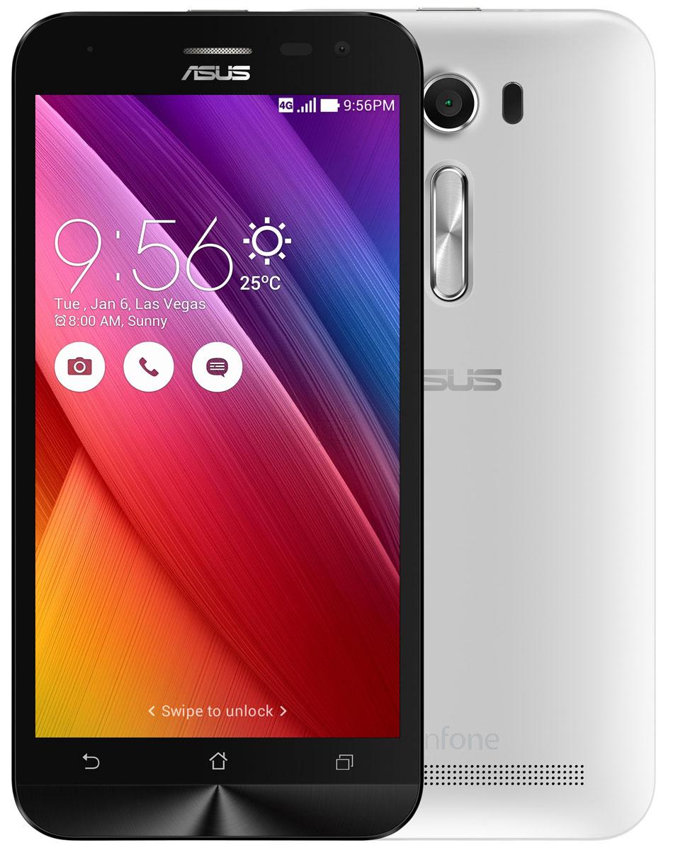 ASUS ZenFone 2 Laser ZE500KL 8GB, White (90AZ00E2-M01140) ze500kl 1a435ru