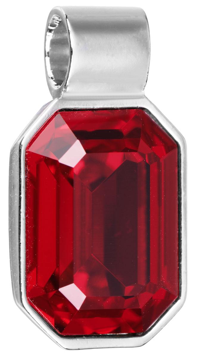 Подвеска Jenavi Кайлиса, цвет: серебряный, красный. k270f316k270f316Подвеска Jenavi Кайлиса выполнена из гипоаллергенного ювелирного сплава, оформлена покрытием из серебра и родия. Подвеска в форме восьмиугольника дополнена граненым кристаллом Swarovski. Изделие имеет отверстие, которое позволит использовать цепочку любого диаметра. Подвеска Jenavi Кайлиса поможет дополнить любой образ и привнести в него завершающий яркий штрих.