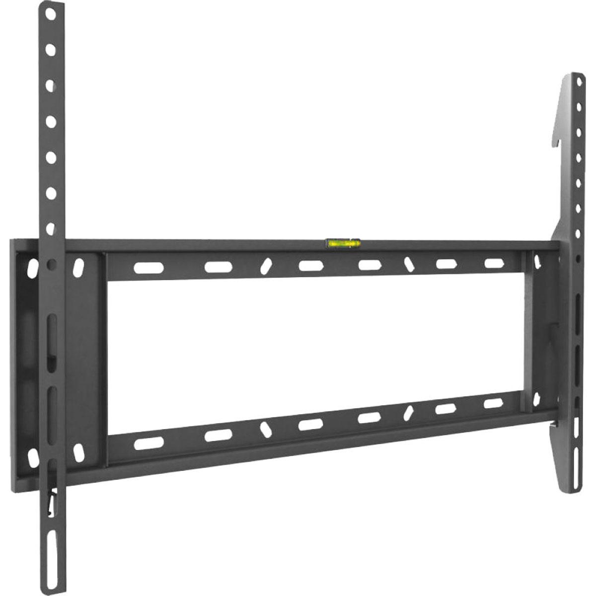 Barkan E400, Black кронштейн для ТВE400Barkan E400 - фиксированный кронштейн для LCD, LED и ЖК телевизоров с диагональю до 80 дюймов и весом до 60 кг. Компактная конструкция оснащена встроенным водяным уровнем, который поможет быстро и точно установить кронштейн. Крепеж практически незаметен благодаря близкому размещению у стены.