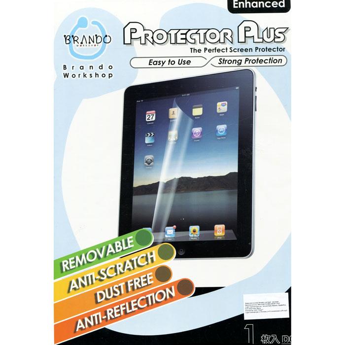 Brando защитная пленка для iPad 2, матовая20012Матовая защитная пленка Brando для iPad II сделана из высококачественного материала, который скрывает отраженные блики и защищает Ваш экран от царапин и пятен. Защитная пленка легко снимается. Пленка имеет специальную клейкую поверхность, которая при снятии не остается на экране и может быть повторно использована. Моется Имеет антибликовое покрытие Не мешает работать с сенсорным экраном