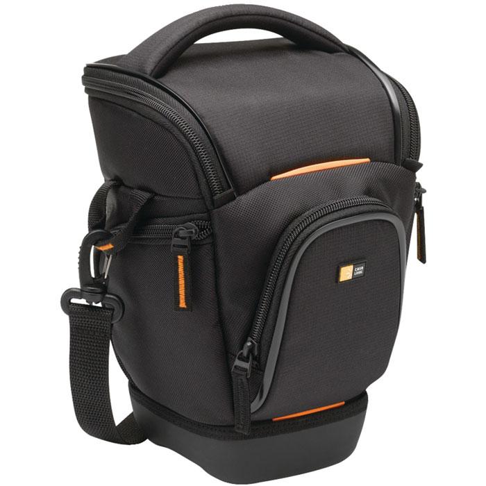 Case Logic SLRC-201, Black сумка-кобура для SLR фотоаппарата с zoom-объективом polaroid joz 45 slr case сумка для фотокамеры