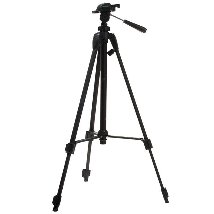 Era ECSA-3710 штативECSA-3710Штатив Era ECSA-3710 серии Classic Advanced. Легкий, компактный, и, вместе с тем, прочный и надежный штатив для фото- видеокамеры. Идеально подходит для большинства любительских и профессиональных фото- видеокамер. Трехсекционные ножки с резиновыми наконечниками 2 жидкостных уровня для точной установки штатива Ручка для переноски штатива