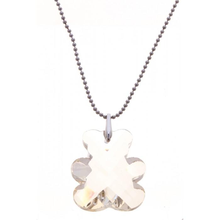 Jenavi Коллекция Gammi, Раги (Кулон), цвет - серебро, желтый