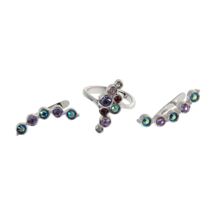 Jenavi Коллекция Десерт, Суфле (Набор), цвет - серебряный, фиолетовый, размер - 18