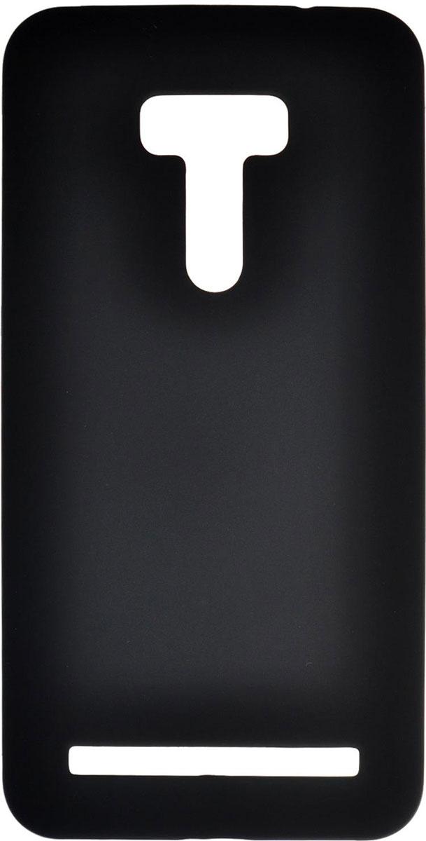 Skinbox 4People чехол для Asus Zenfone Selfie ZD551KL, BlackT-S-AZS-002Чехол - накладка Skinbox 4People для Asus Zenfone Selfie ZD551KL бережно и надежно защитит ваш смартфон от пыли, грязи, царапин и других повреждений. Чехол оставляет свободным доступ ко всем разъемам и кнопкам устройства. В комплект также входит защитная пленка на экран.