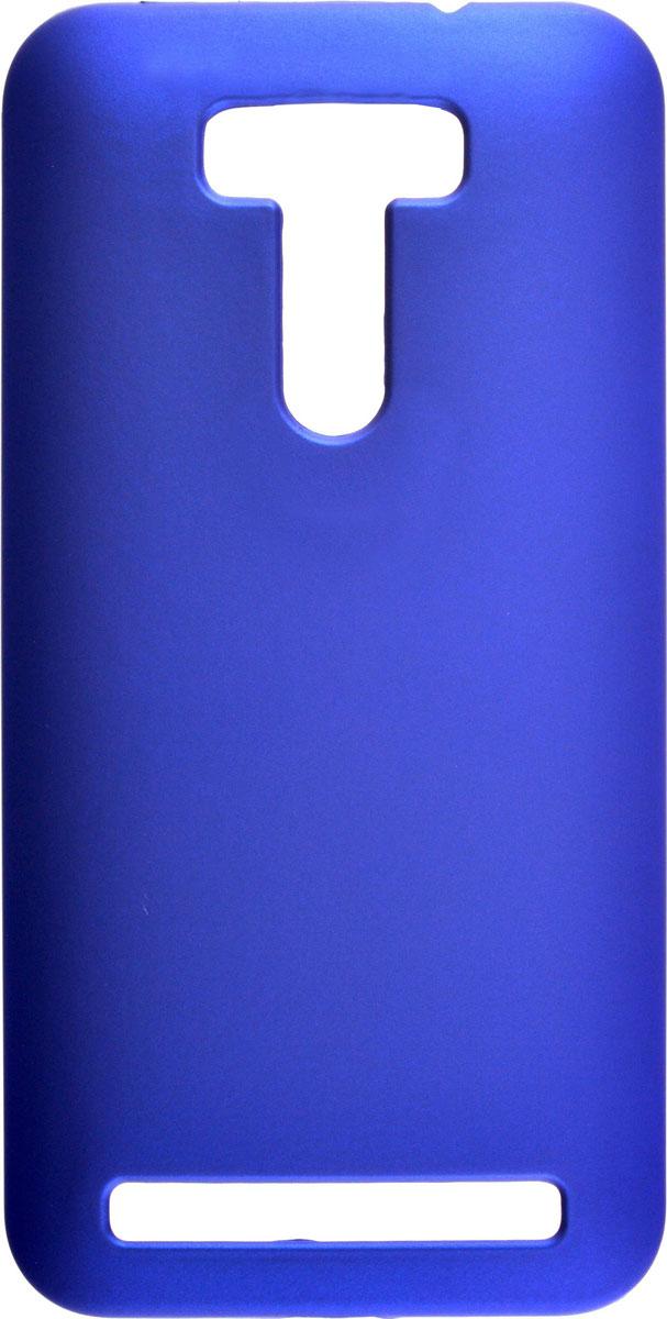 Skinbox 4People чехол для Asus Zenfone Selfie ZD551KL, BlueT-S-AZS-002Чехол - накладка Skinbox 4People для Asus Zenfone Selfie ZD551KL бережно и надежно защитит ваш смартфон от пыли, грязи, царапин и других повреждений. Чехол оставляет свободным доступ ко всем разъемам и кнопкам устройства. В комплект также входит защитная пленка на экран.