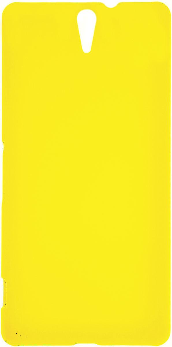 Skinbox 4People чехол для Sony Xperia C5 Ultra, YellowT-S-SXC5U-002Чехол - накладка Skinbox 4People для Sony Xperia C5 Ultra бережно и надежно защитит ваш смартфон от пыли, грязи, царапин и других повреждений. Чехол оставляет свободным доступ ко всем разъемам и кнопкам устройства. В комплект также входит защитная пленка на экран.