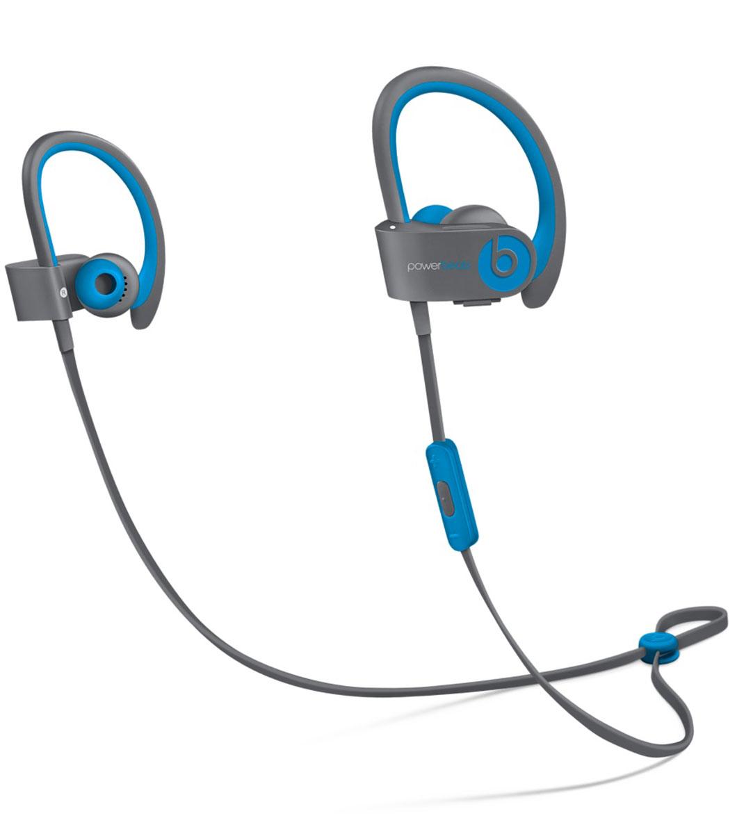 Beats Powerbeats2 Wireless Active Collection, Blue Grey наушникиMKQ02ZE/AСтильные беспроводные наушники Beats Powerbeats2 Wireless из коллекции Active дают вам полную свободу на пробежках и тренировках с iPhone или iPod. Беспроводные наушники, вдохновлённые Леброном Джеймсом, бросают вызов обыденности, давая атлетам импульс к непревзойдённым результатам. Лёгкие и мощные, с двумя акустическими головками, совершенно новые беспроводные наушники воспроизводят звук великолепного качества на мощности, которая нужна вам для движения на пробежке или тренировке. От городских улиц до игровых площадок - наушники Powerbeats2 Wireless дают вам полную свободу на тренировках. Беспроводная технология Bluetooth даёт возможность подключаться к iPhone, iPod или другому устройству Bluetooth на расстоянии до 9 метров - вы можете свободно двигаться и сосредоточиться на спорте. Подзаряжаемый аккумулятор на 6 часов воспроизведения даст вам силы выстоять до конца. А если он разрядился, 15-минутная быстрая зарядка обеспечит ему дополнительный час работы. ...