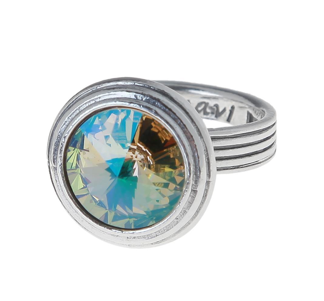 Кольцо Jenavi Эмбаси, цвет: серебряный, желтый. j1713020. Размер 19j1713020Стильное кольцо Jenavi Эмбаси выполнено из гипоаллергенного ювелирного сплава и оформлено кристаллом Swarovski. Стильное кольцо придаст вашему образу изюминку, подчеркнет индивидуальность.