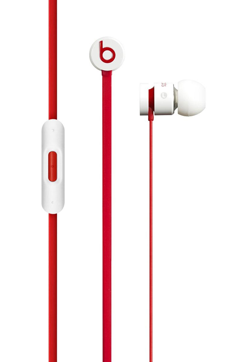 Beats Urbeats CW, White Red наушникиMHD12ZE/AНаушники Beats urBeats обеспечивают великолепное качество звучания и управление музыкой на вашем iPhone, iPad или iPod touch. Цельный металлический корпус Цельный металлический корпус, обработанный с высокой точностью, подавляет вибрации и устраняет негативные призвуки, улучшая процесс прослушивания. Закрытая внутриканальная конструкция и ушные вкладыши различной формы блокируют посторонние шумы. Прочность Не важно, насколько бережно вы обращаетесь с вашими urBeats, - теперь не нужно волноваться о том, что они скоро сломаются или износятся. Встроенный микрофон для совершения звонков Легкое переключение между прослушиванием музыки и приемом вызовов. Встроенный микрофон позволит вам говорить с применением гарнитуры на ваших устройствах Apple. Эксклюзивная конструкция драйвера позволяет воспроизводить глубокие низкие, невесомые высокие и сверхчистые средние частоты. Легкая конструкция идеально подходит для...