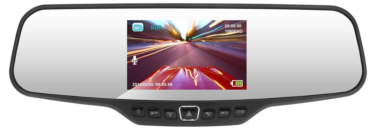 Neoline G-tech X13, Black видеорегистраторG-tech X13Зеркало заднего вида с видеорегистратором Neoline G-tech X13 не загромождает лобовое стекло и не ухудшает обзорность, имеет легкий доступ к органам управления, расположенным на нижней грани. Большой дисплей - 4,3 дюйма - расположен в центре зеркала. Neoline G-tech X13 оснащен процессором NT96650, сенсором Aptina AR0330 3Mp и стеклянной 6G линзой. Это позволяет снимать видео с разрешением Full HD (1920x1080) при 30 кадрах в секунду и получать максимально качественное видео как в дневное, так и в ночное время. Устройство снабжено специальным резистивным элементом, благодаря чему объекты отображаются натурально и естественно, расстояние до них максимально соответствует действительности. Большой дисплей видеорегистратора – 4,3 дюйма – расположен в центре зеркала так, что в выключенном состоянии его не видно. Это, безусловно, удобно – водителя ничего не отвлекает от дороги. При этом все преимущества большого дисплея остаются в распоряжении...