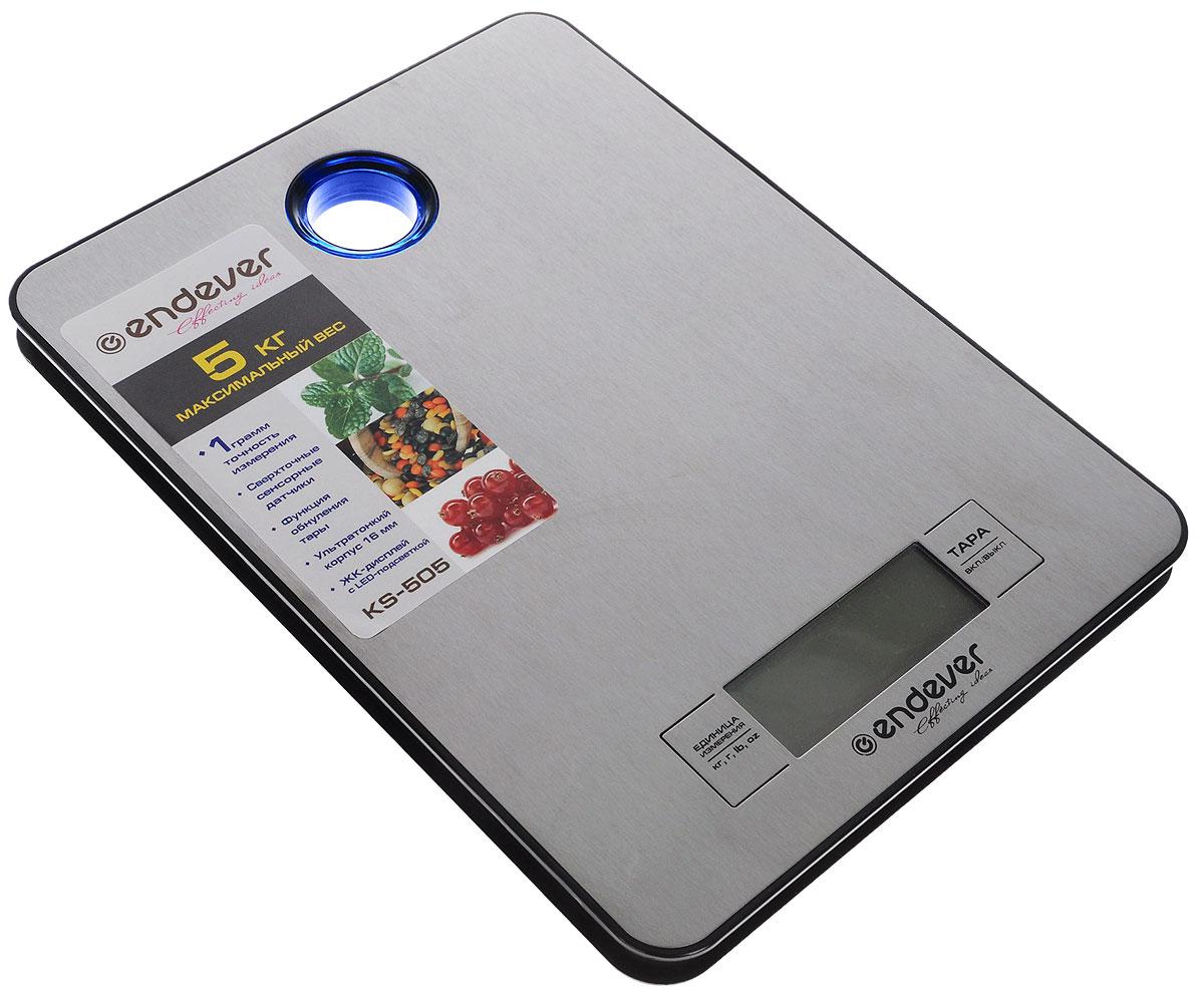 Endever 505-KS электронные кухонные весыEndever 505K