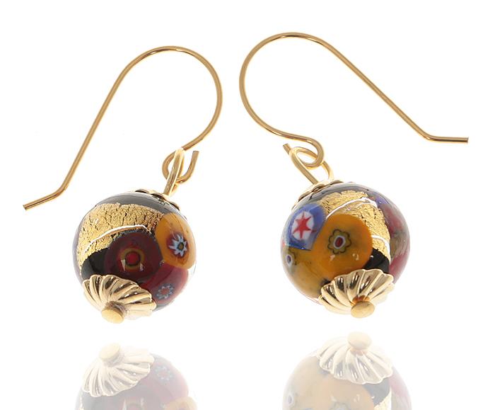 Серьги Сюзанна. Муранское стекло, бижутерный сплав золотого тона, ручная работа. Murano, Италия (Венеция)f661f090Серьги Сюзанна. Муранское стекло, бижутерный сплав золотого тона, ручная работа. Murano, Италия (Венеция). Размер: 3 х 1,5 см. Каждое изделие из муранского стекла уникально и может незначительно отличаться от того, что вы видите на фотографии.